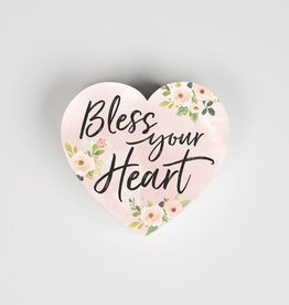 SHP0003 BLESS YOUR HEART SMALL SHAPE  - 3.5X3.25