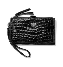 BRIGHTON T35163 Bellissimo Heart Double Zip Wallet