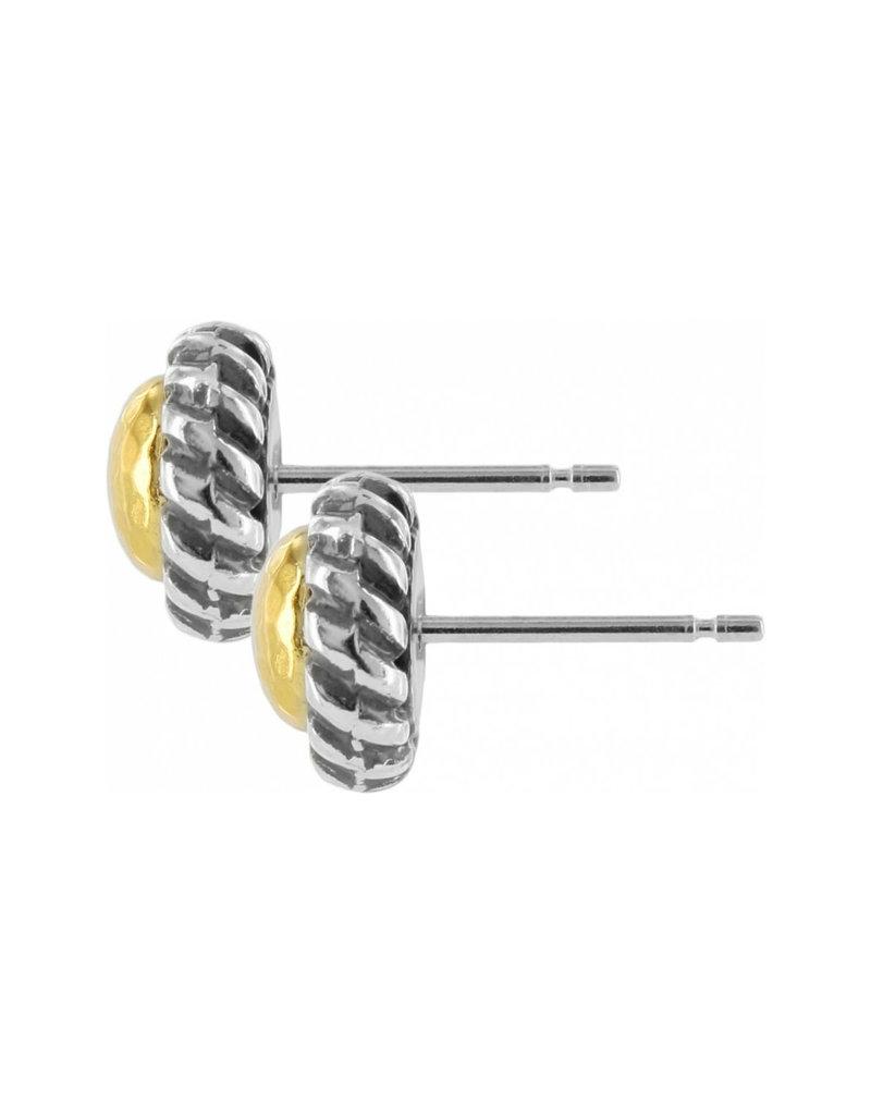 BRIGHTON J20911 GOLD MAGIC MINI POST EARRINGS