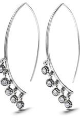 BRIGHTON JA7081 TWINKLE DROPLET WIRE EARRINGS