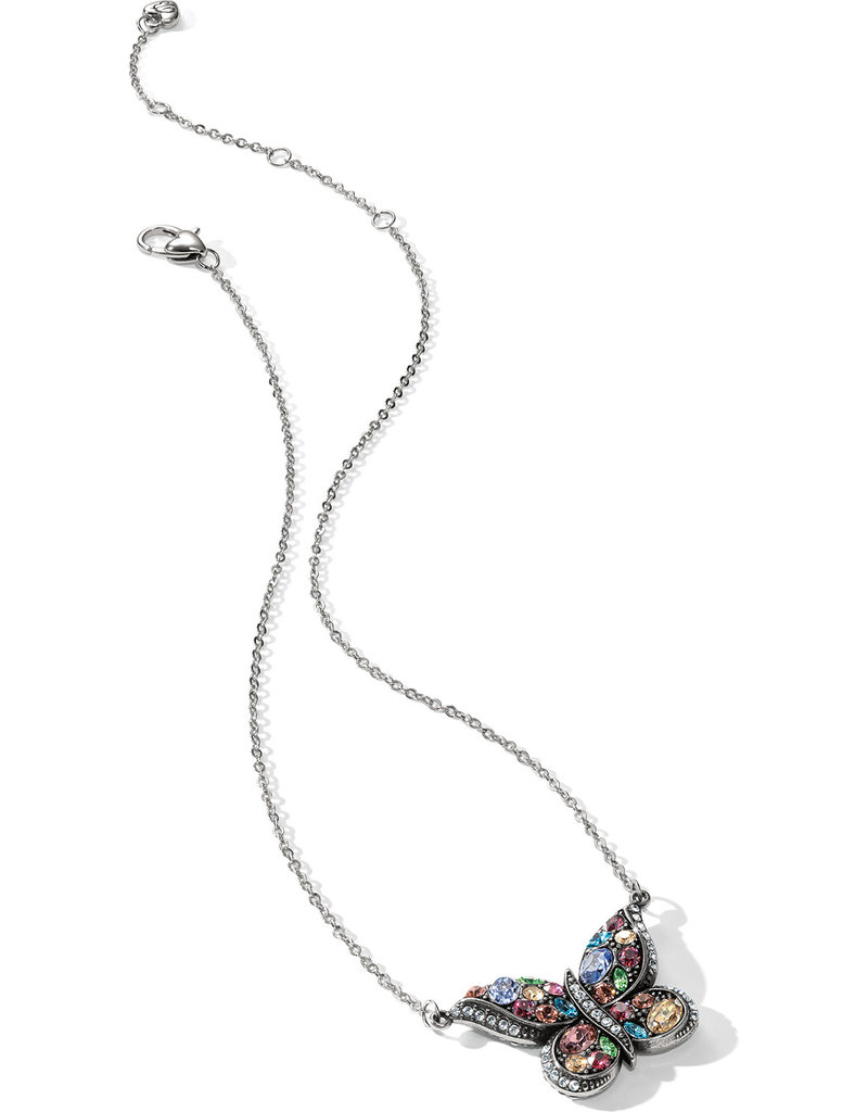 BRIGHTON JL5611 Trust Your Journey Reversible Butterfly Necklace