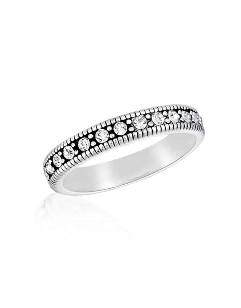 CZ Eternity Stack Ring