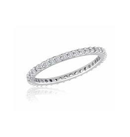 Thin Diamond Stack Ring