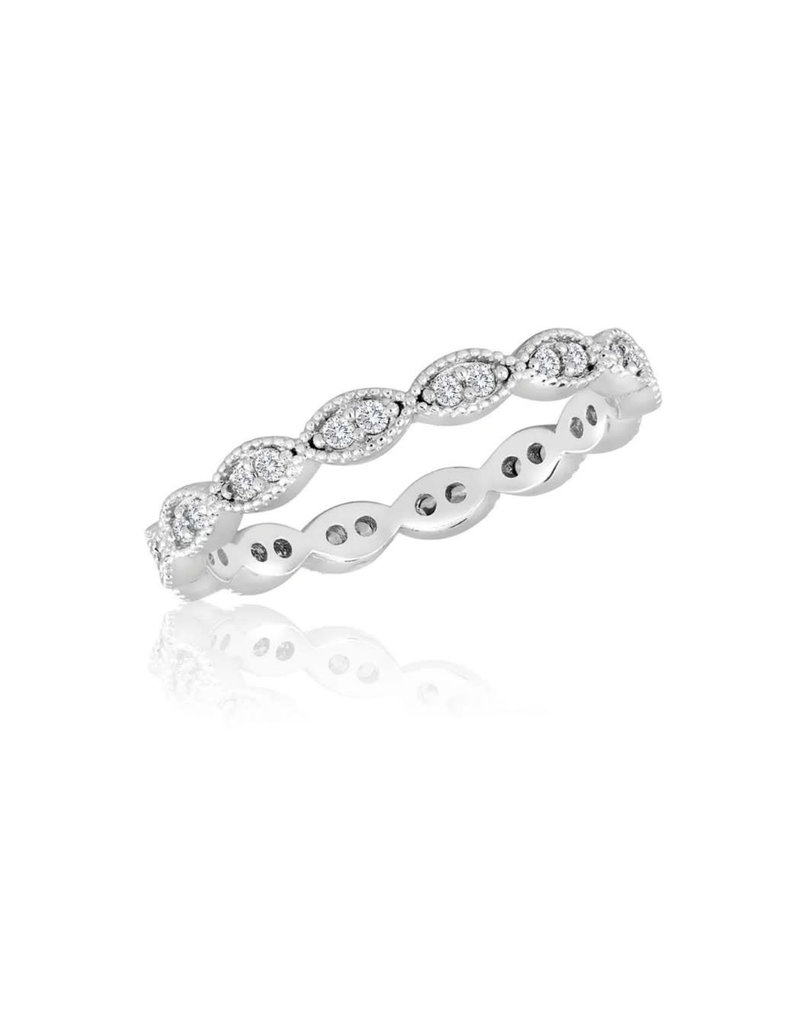 Endless Oval Stack Ring