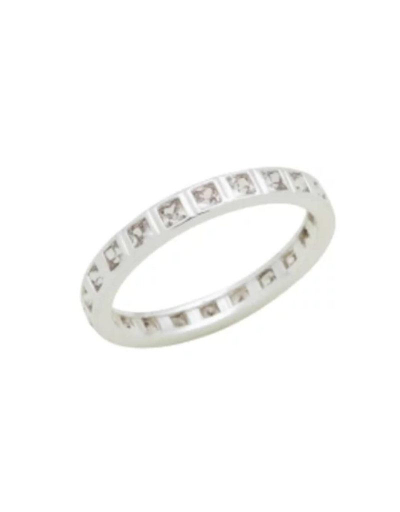 Eternity CZ Stack Ring
