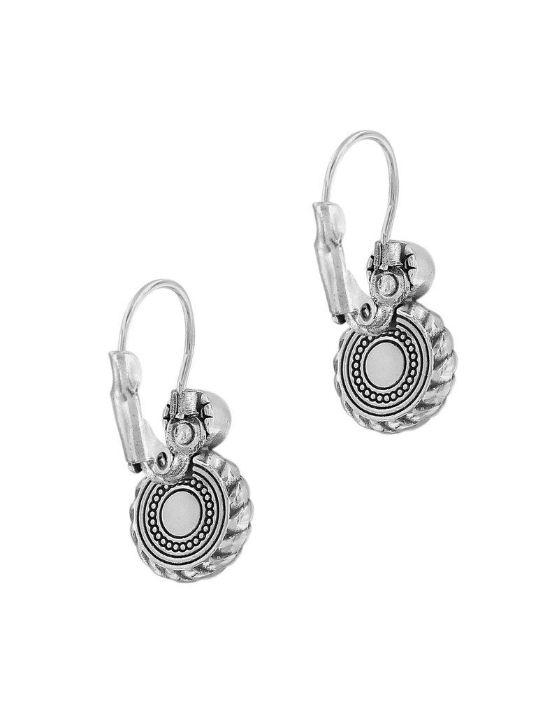 BRIGHTON JA5753 Halo Eclipse Leverback Earrings