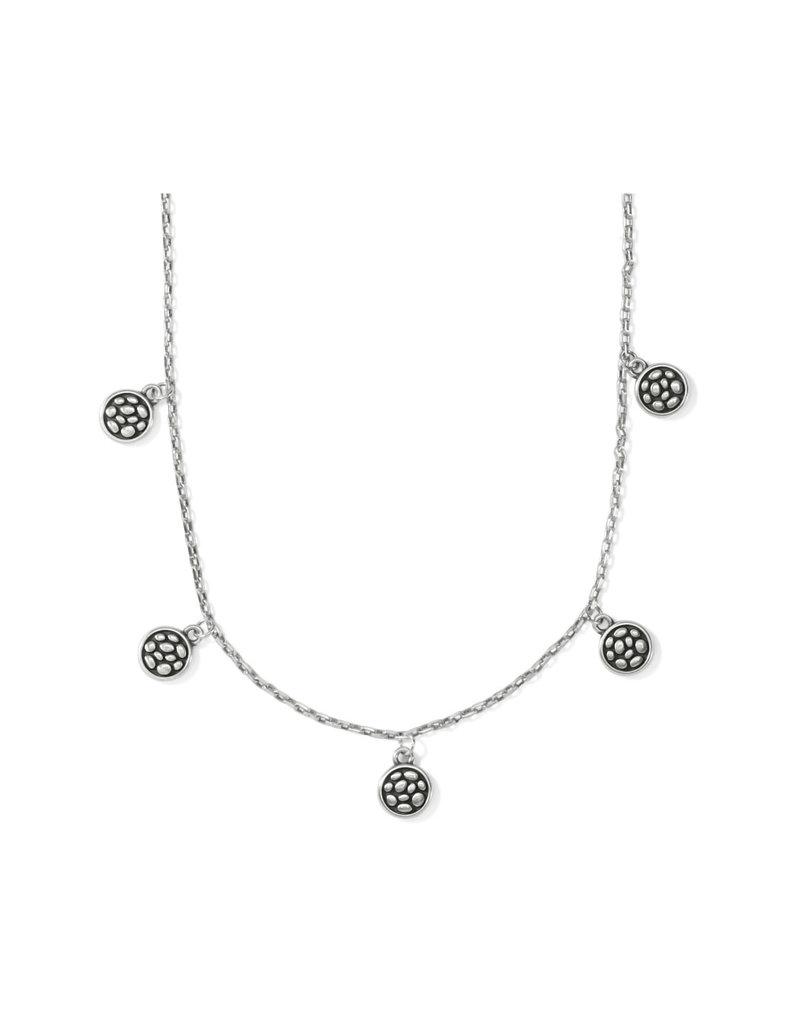 BRIGHTON JM3560 Pebble Round Droplet Necklace