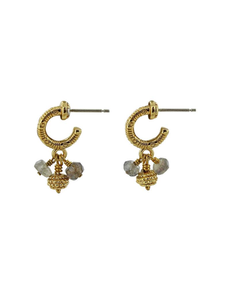 BRIGHTON J19512 Play Of Light Small Hoop Earrings