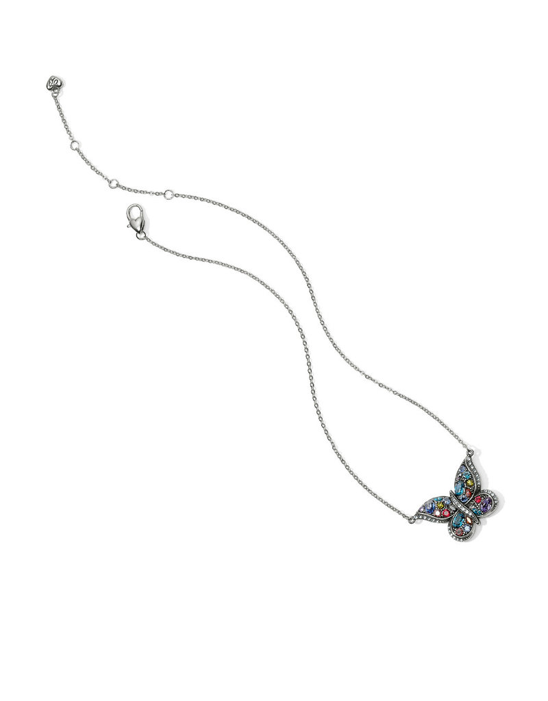 BRIGHTON JL5614 Trust Your Journey Reversible Butterfly Necklace