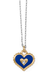 BRIGHTON JM3813 Simply Charming Giving Heart Necklace