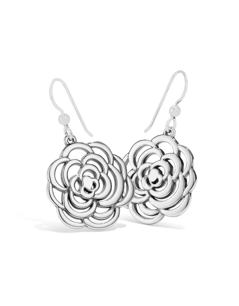 BRIGHTON JA6761 The Botanical Rose French Wire Earrings