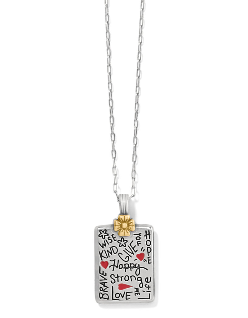 BRIGHTON JM3913 GIVE LOVE FLOWER NECKLACE