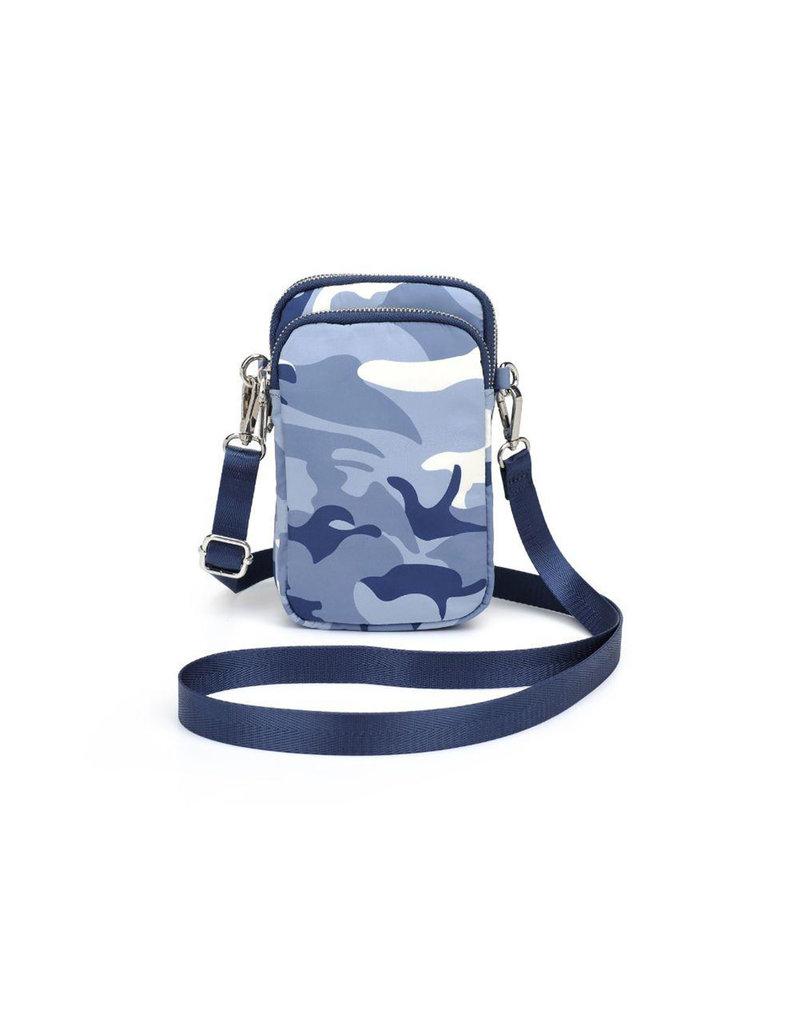 SOL AND SELENE Divide & Conquer - blue camo silver