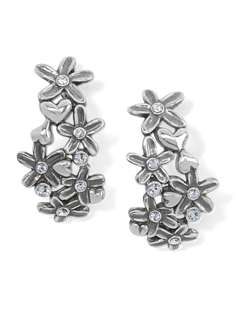 BRIGHTON JA7381 Wild Flowers Post Hoop Earrings