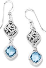 BRIGHTON JA7413 Elora Gems Sky French Wire Earrings