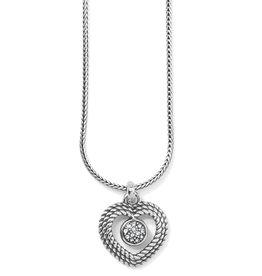 BRIGHTON JM3941 Portuguese Heart Short Necklace