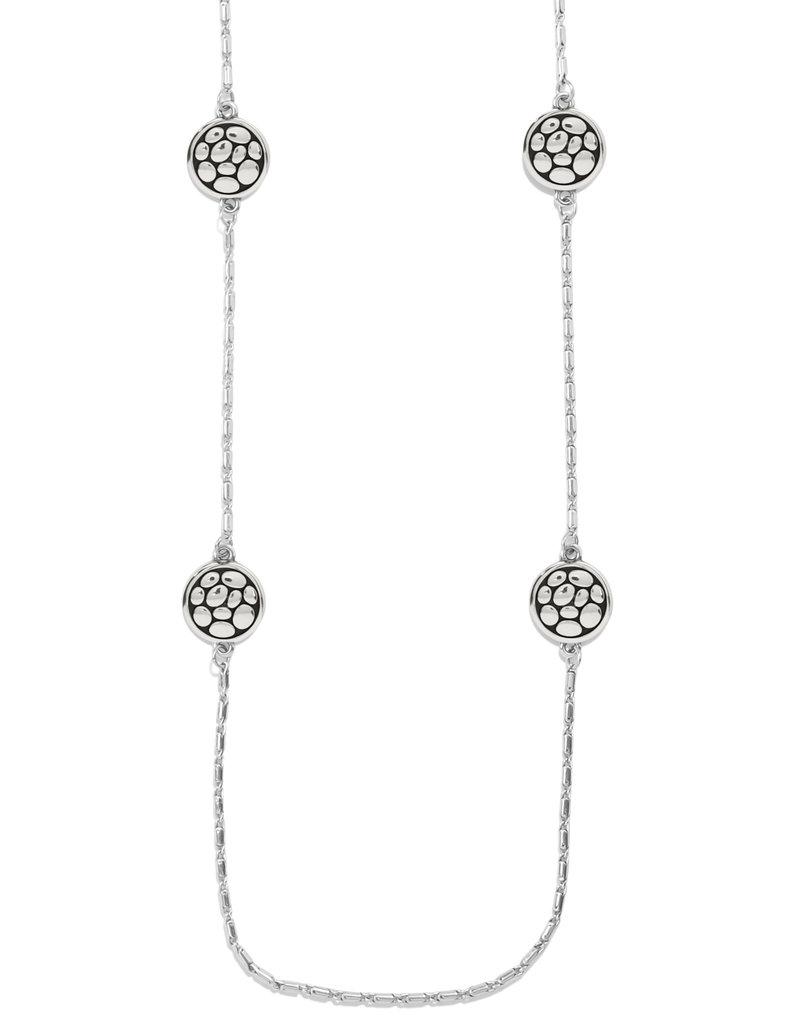 BRIGHTON JM3990 Pebble Round Reversible Long Necklace
