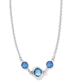 BRIGHTON JM4193 ELORA GEMS SKY SHORT NECKLACE