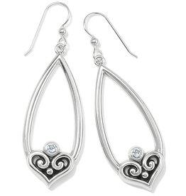 BRIGHTON JA7351 Alcazar Heart Teardrop French Wire Earrings