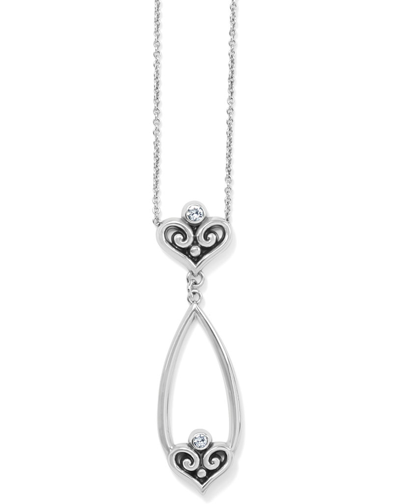 BRIGHTON JM4071 Alcazar Heart Teardrop Necklace