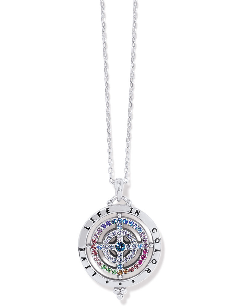BRIGHTON JM4163 COLOR DROPS PENDANT NECKLACE