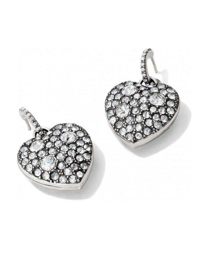 JA2001 Anatolia Reversible Heart Post Hoop Earrings