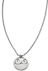 BRIGHTON JL7570 London Groove Disc Petite Necklace