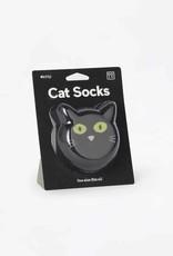 DOIY Cat Socks Black