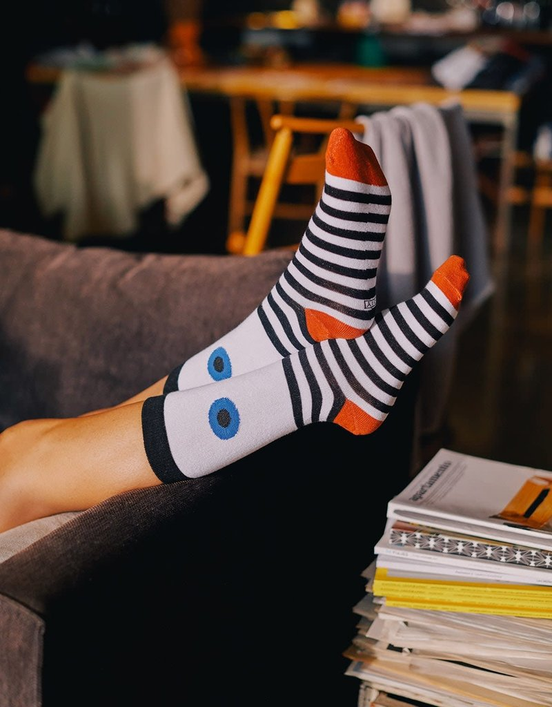 DOIY Eye Socks Blue