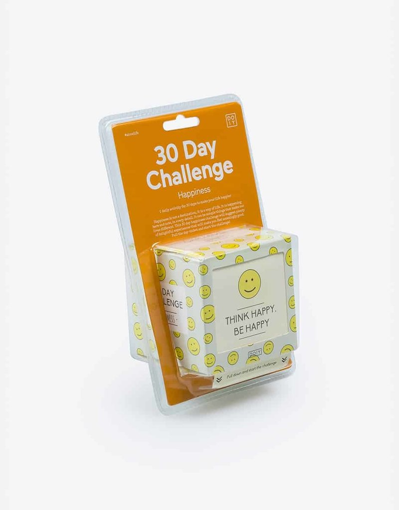 DOIY 30 Day Happiness Challenge