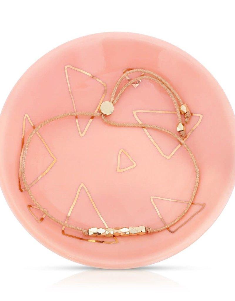 LUCKY FEATHER Positive Directions - Bracelet + Dish Set