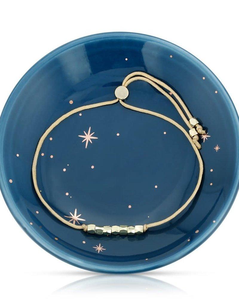 LUCKY FEATHER Shine so Bright - Bracelet + Dish Set