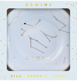 LUCKY FEATHER ZODIAC DISH - GEMINI (MAY 21 - JUNE 20)