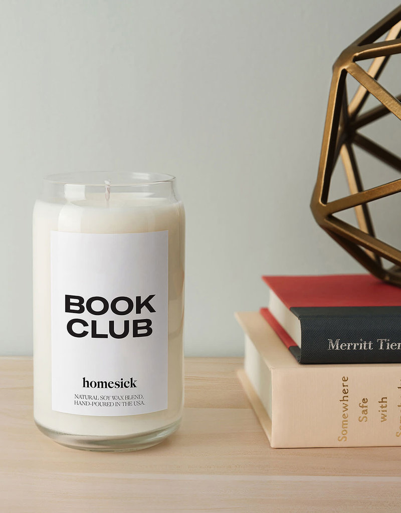 Book Club Candle