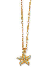 BRIGHTON JM4263 Paradise Cove Petite Starfish Necklace