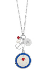 BRIGHTON JM4363 ANCHOR BAY CHARM NECKLACE