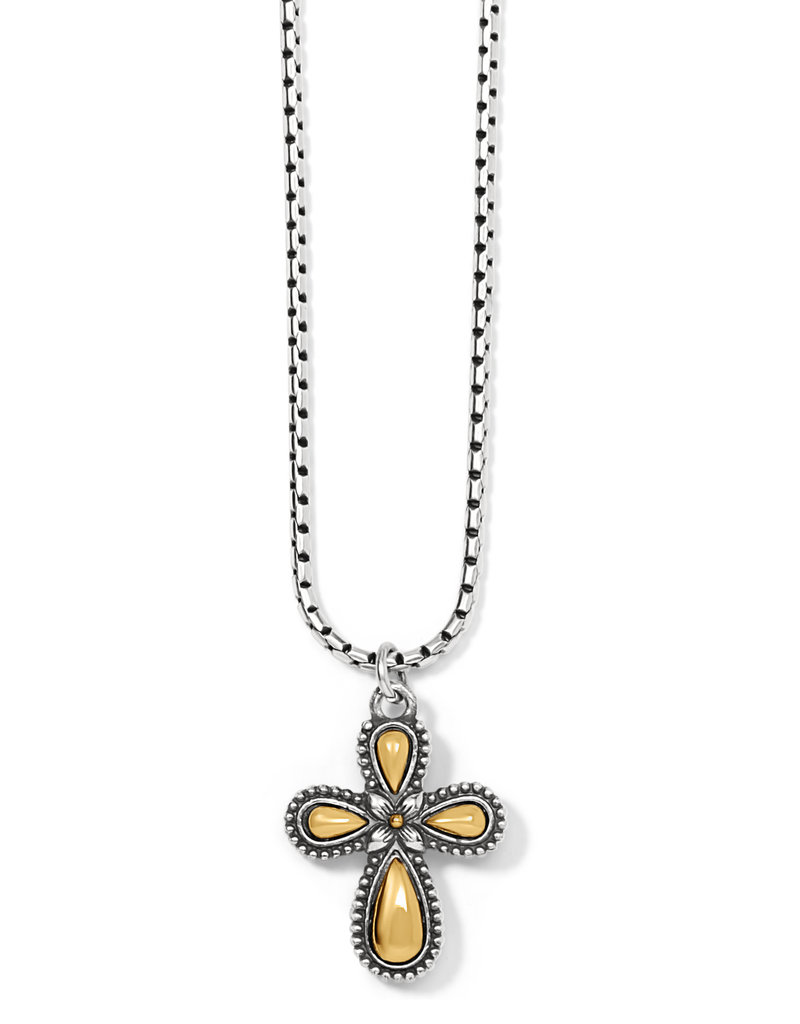 BRIGHTON J41331 GRACE CROSS NECKLACE