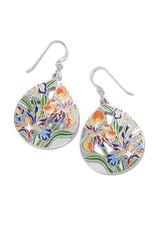 BRIGHTON JA7363 Iris Bloom French Wire Earrings