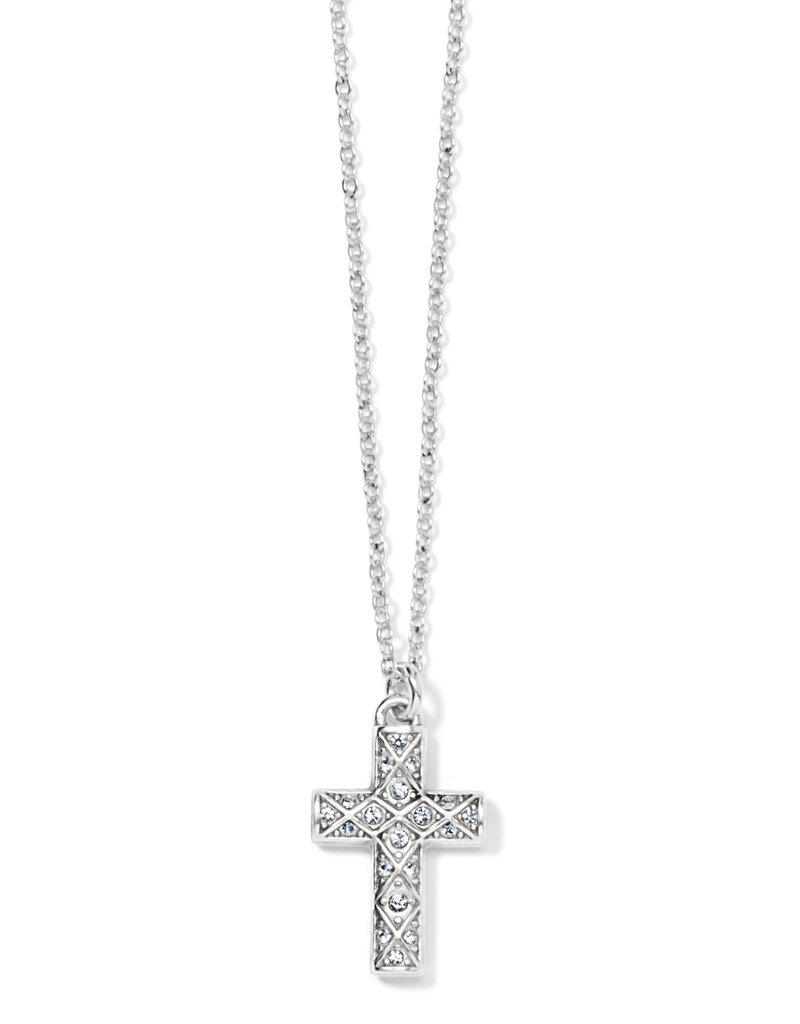 BRIGHTON JN1552 DIAMOND CROSS NECKLACE