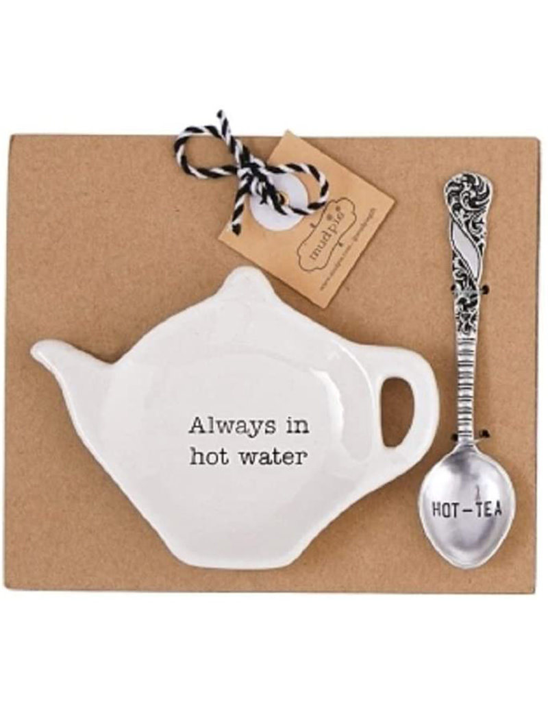 MUD PIE 42600444H HOT WATER TEA BAG SET