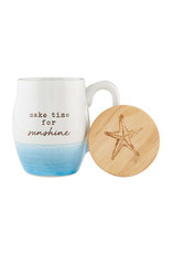 MUD PIE 43500101M MAKE BEACH MUG SET