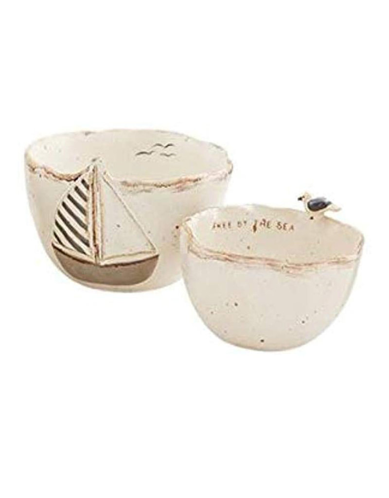 MUD PIE 48500160B BOAT ICON NESTED DIP CUP SET