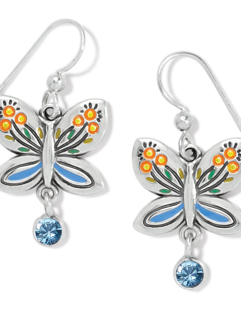 BRIGHTON JA7473 Garden Wings French Wire Earrings