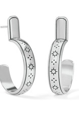 BRIGHTON JA7530 Marrakesh Neutral Post Hoop Earrings