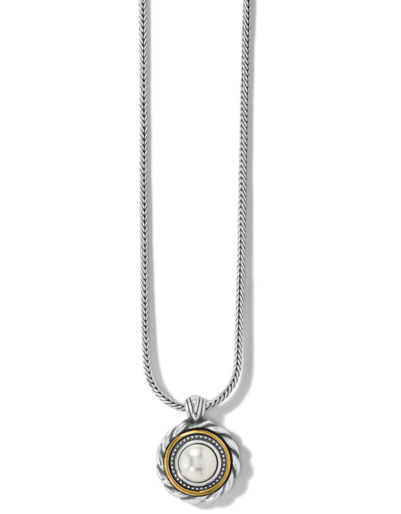 BRIGHTON JM3953 Meridian Golden Pearl Short Necklace
