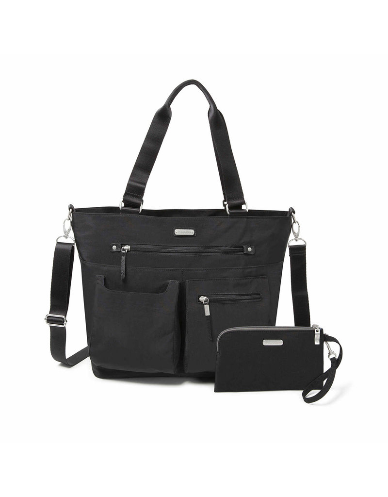BAGGALLINI ADT336 Any Day Tote With RFID Phone Wristlet