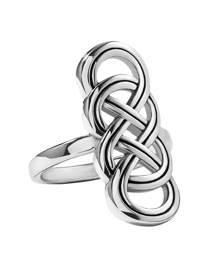 BRIGHTON J62730 INTERLOK BRAID RING