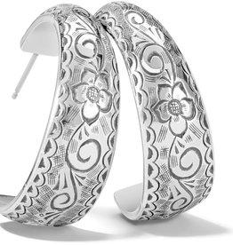 BRIGHTON JA7550 ESSEX HOOP EARRINGS