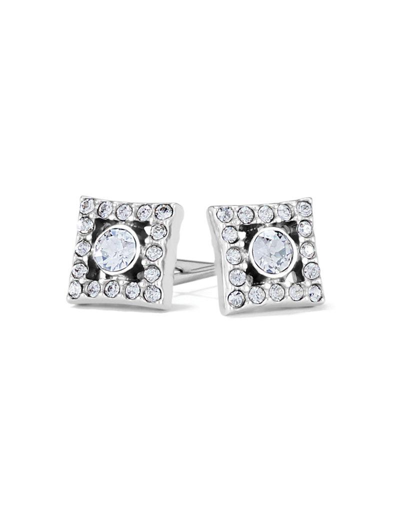 BRIGHTON JA7561 ILLUMINA DIAMOND POST EARRINGS