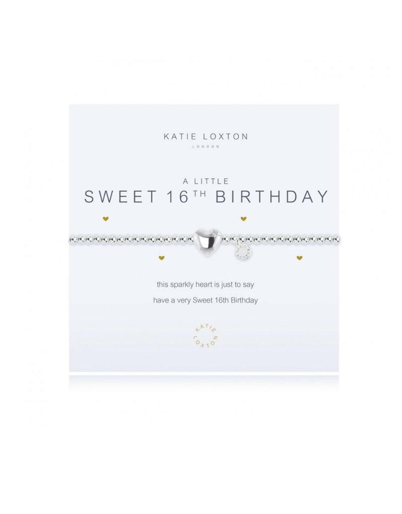 KATIE LOXTON KLJ1086 A LITTLE SWEET 16TH BRACELET